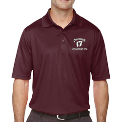 Challenger Dad Performance Polo