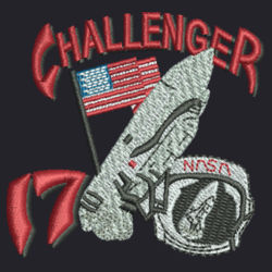 Challenger 17 Journey Fleece Vest Design